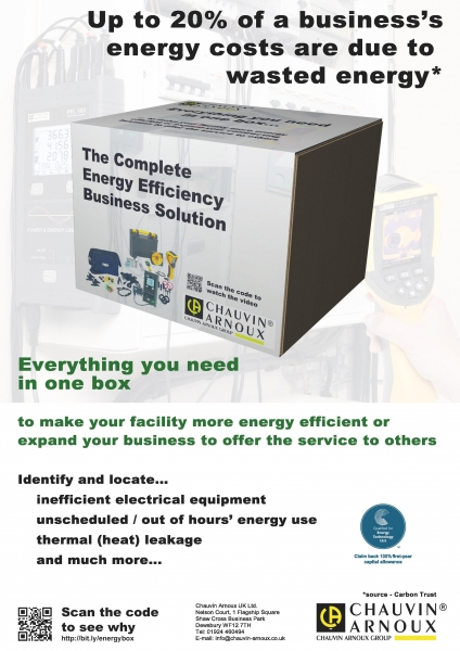 Chauvin arnoux uk ltd launch eebs energy efficiency business eebs poster sciox Image collections